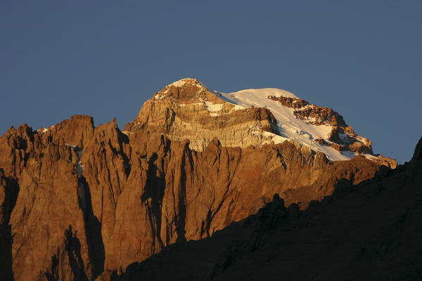 Sunrise at Aconcagua
